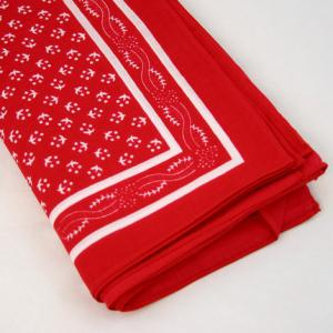 Wilsons of Sharrow Red Pattern Handkerchief