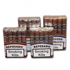Reposado Maduro and Natural Sampler - 4 packs of 10