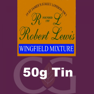Robert Lewis Wingfield Mixture Pipe Tobacco 50g Tin