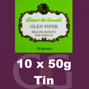 Robert McConnell Glen Piper Pipe Tobacco 10x50g Tins