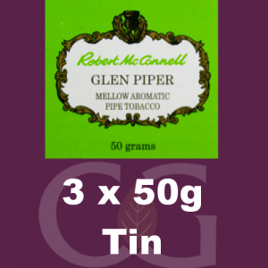 Robert McConnell Glen Piper Pipe Tobacco 3x50g Tins