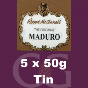Robert McConnell Maduro Superb Pipe Tobacco 5x50g Tins
