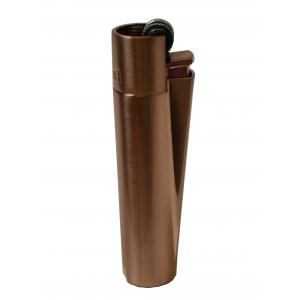Clipper Metal Flint Rose Gold Lighter