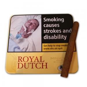 Ritmeester Royal Dutch Miniature Yellow – 10 Tins of 10