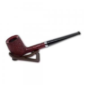 Alfred Dunhill Pipe – The White Spot Ruby Bark Group 4 Semi Bent Pipe (4110)