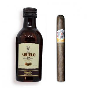 Intro to Pairing - AVO Syncro Fogata Purito + Ron Abuelo 12 Year Old Rum Mini