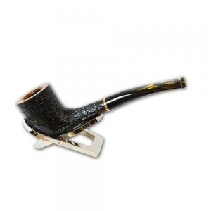 Savinelli Oscar Tiger Rustic Curved 404 6mm Pipe (SAV241)