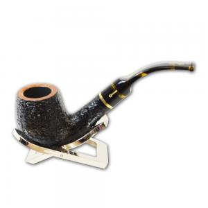 Savinelli Oscar Tiger Rustic Bent 603 6mm Pipe (SAV242)