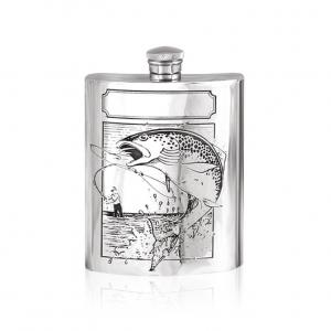 6oz Pewter Hip Flask - SF204