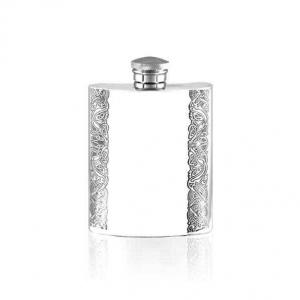 4oz Pewter Hip Flask Celtic - SF211