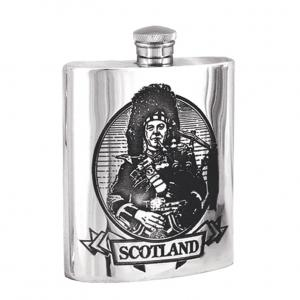 6oz Pewter Hip Flask - SF254