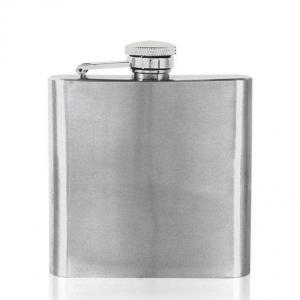6oz Pewter Hip Flask - STL064