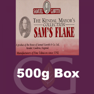 Samuel Gawith Mayors Collection Sams Flake Pipe Tobacco 500g Box