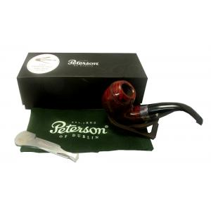 Peterson Sherlock Holmes Baskerville Smooth P.Lip Pipe 9mm Filter