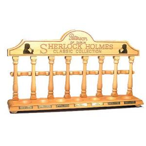 Peterson Sherlock Holmes Original Classic Collection Pipe Rack - 7 Pipe Rests