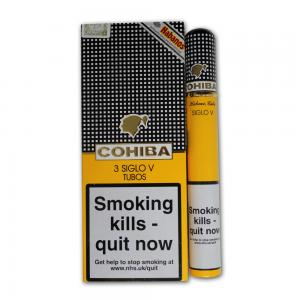 Cohiba Siglo V Tubed Cigar - Pack of 3