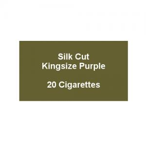 Silk Cut Kingsize Purple - 1 pack of 20 cigarettes (20)