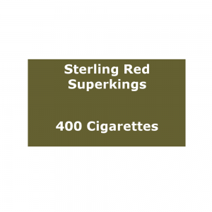 Sterling Red Superkings  - 20 Pack of 20 Cigarettes (400)