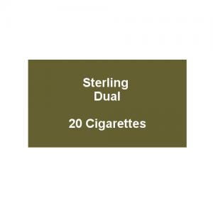 Sterling Dual - 1 Pack of 20 Cigarettes (20)