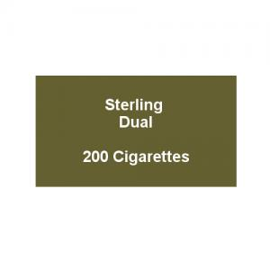 Sterling Dual - 10 Packs of 20 Cigarettes (200)