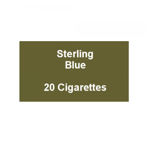 Sterling Blue - 1 Pack of 20 Cigarettes (20)