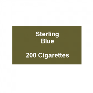 Sterling Blue - 10 Packs of 20 Cigarettes (200)