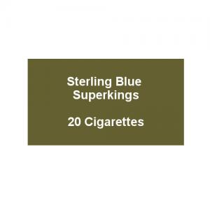 Sterling Blue Superkings - 1 Pack of 20 Cigarettes (20)