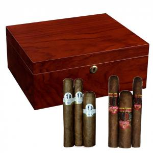 Adorini Triest Humidor + Alec Bradley and Oliva Orchant Seleccion Sampler