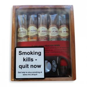 Te Amo World Selection Series Robusto Gift Box - 5 Cigars + Cutter