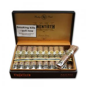 Rocky Patel - 20th Anniversary Rothschild Natural Cigar - Box of 20