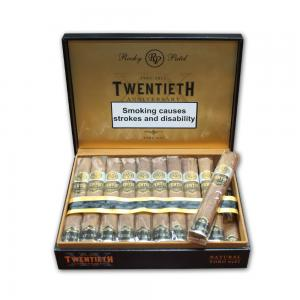 Rocky Patel 20th Anniversary Toro Natural Cigar - Box of 20