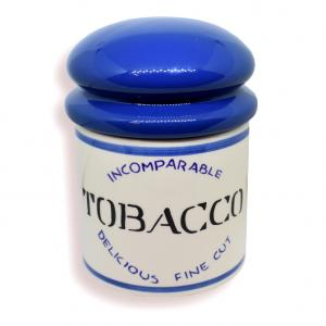 Savinell Ceramic Blue Kilo Tobacco Jar