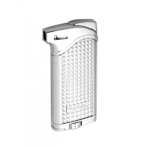 Vector Maximus – Pipe Lighter with Tamper – Silver