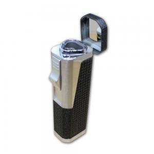 Vector Urbano Triple Jet Cigar Lighter - Matte Black Crackle