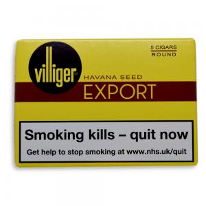 Villiger Export Round Cigar - Pack of 5
