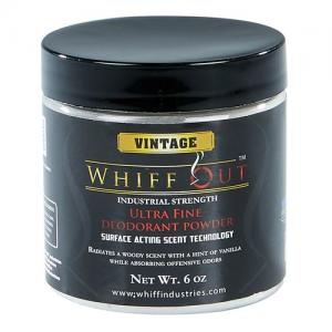 Whiff Out Ultra Fine Deodoriser Powder - Vintage Scent - 6oz Jar