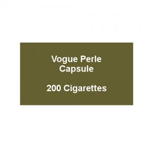 Vogue Blue Capsule - 10 Packs of 20 Cigarettes (200)