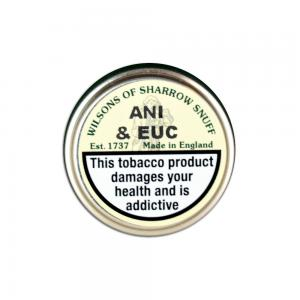 Wilsons of Sharrow - Ani & Euc Snuff - Small Tin - 5g (END OF LINE)