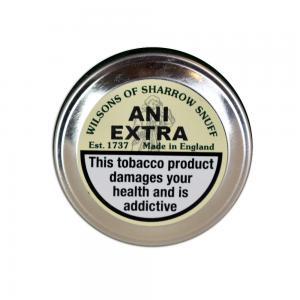 Wilsons of Sharrow - Aniseed Extra Snuff - Medium Tin - 10g