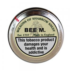 Wilsons of Sharrow - BEE M Snuff - Large Tin - 20g