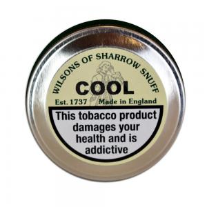 Wilsons of Sharrow - Cool Snuff - Medium Tin - 10g (END OF LINE)