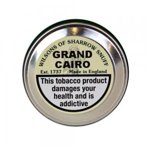 Wilsons of Sharrow - Grand Cairo Snuff - Medium Tin - 10g
