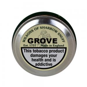 Wilsons of Sharrow - Grove Snuff - Medium Tin - 10g