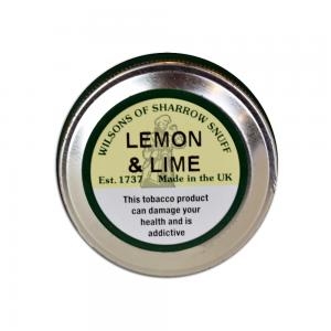 Wilsons of Sharrow - Lemon & Lime Snuff - Medium Tin - 10g (END OF LINE)