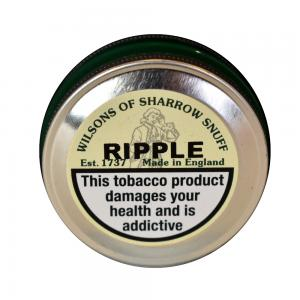 Wilsons of Sharrow - Ripple Snuff - Medium Tin - 10g
