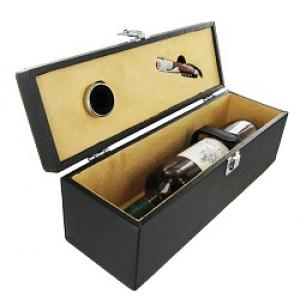 Leatherette Wine Box - WS14