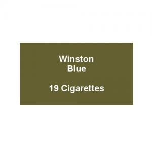 Winston Blue - 1 Pack of 20 Cigarettes (20)