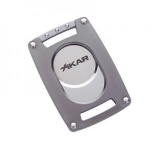 Xikar Ultra Slim Guillotine Cigar Cutter - 64 Ring Gauge - Gunmetal