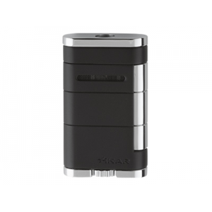 Xikar Allume Single Jet Lighter - Black