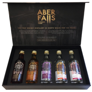 Aber Falls Gin Selection - 5x5cl Gift Pack